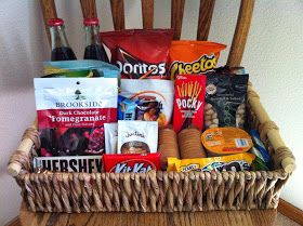 The Little Things: Preparing for House Guests - guest room welcome basket ideas