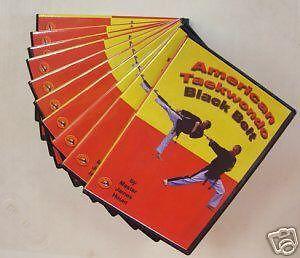 American Taekwondo Training 10 DVD set Karate dvds