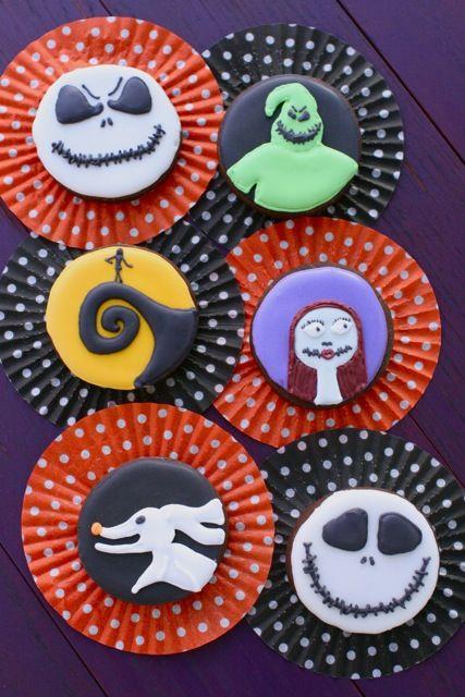 Nightmare Before Christmas Cookies | Biscotti di zucchero di ...