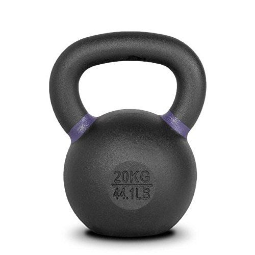 Cast Iron Kettlebell 20KG Home Fitness Gym Weight Workout Strength Training