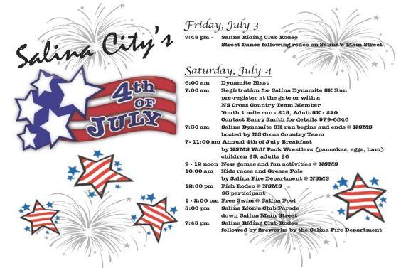 salina utah 4th of july celebration