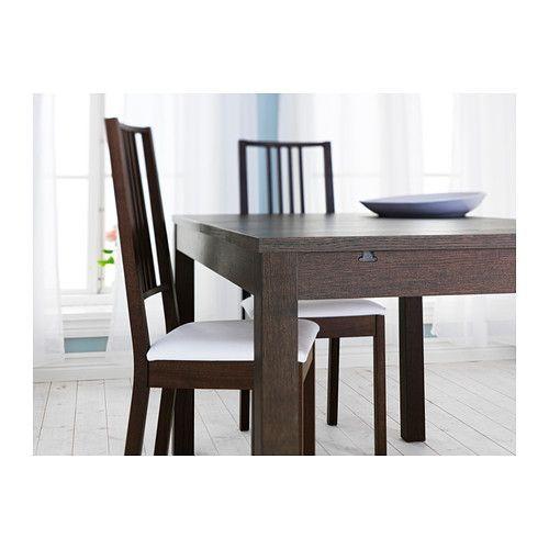 Wonderful Photographs Bjursta Extendable Table Brown Black Strategies Ikea Extendable Table Extendable Dining Room Table Dining Room Table