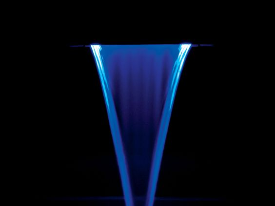 T7™ Diving System (active diving base) Blue LED lights at night.