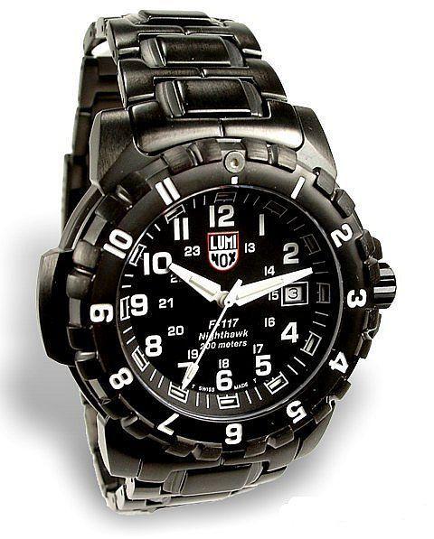 Luminox Watch (F117 Airforce Stealth Nighthawk #3400 Series