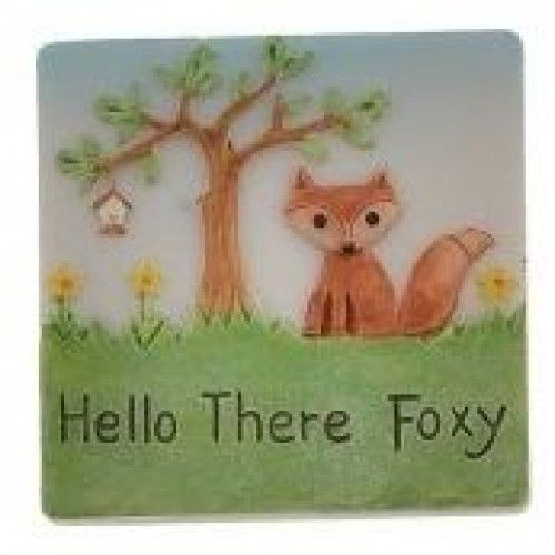 Dochsa Hello There Foxy Fox Magnet Gift https://dochsa.com