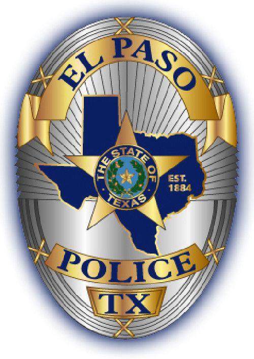 El Paso Tx Pd Police Badge El Paso Police Fire Badge