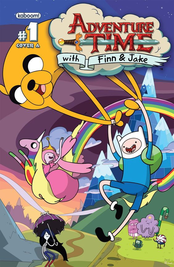 Adventure Time #1 cover A
