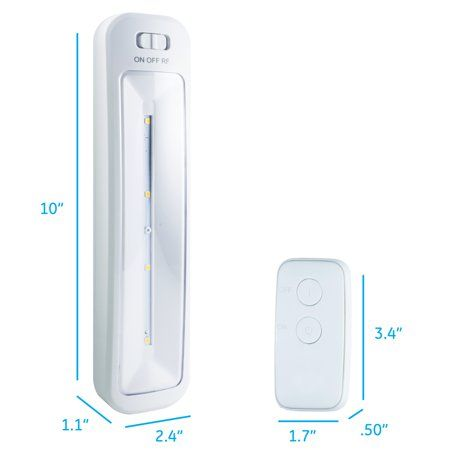Ge Wireless Remote Led Light Bars Battery Operated White 3 Pack 38558 White Lights Ideas Of White Lights White Light Ideas Bar Lighting White Light Bulbs