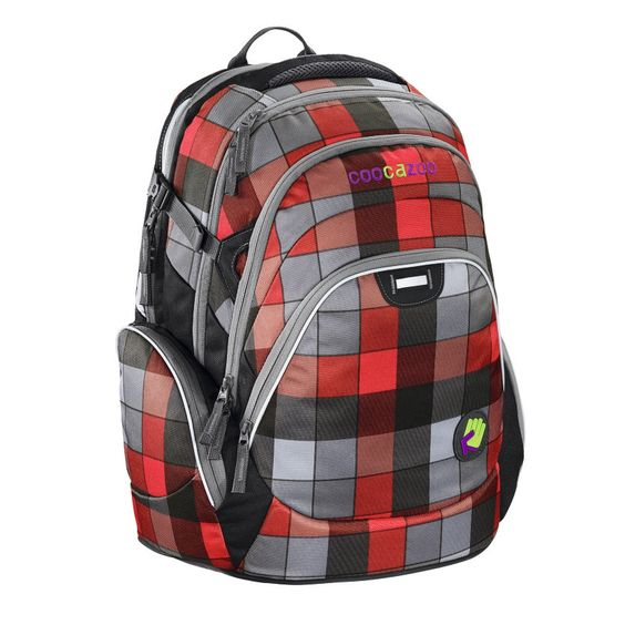 Coocazoo Rucksack JobJobber Red District