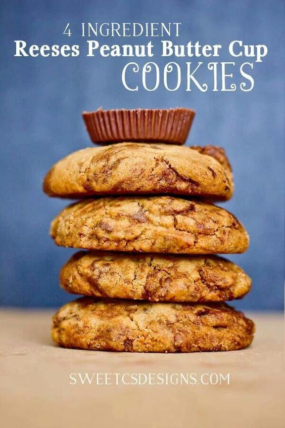 ... | Peanut Butter Cookies, Reeses Peanut Butter and Peanut Butter