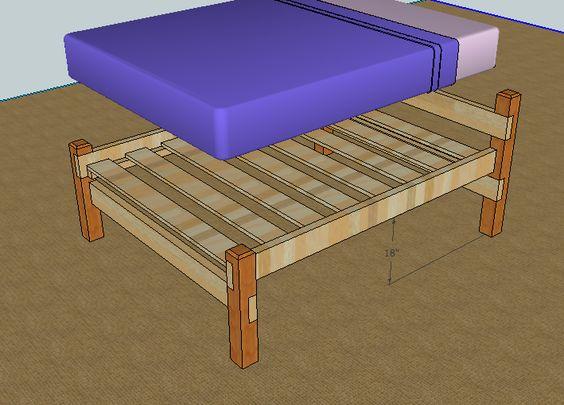 Best Simple Queen Bed Frame By Luckysawdust Lumberjocks 640 x 480
