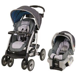 For face-to-face adventures, the Quattro Tour® Reverse Travel System features an innovative reversible seat stroller with superior maneuverability in both seating positions, one-hand fold and the top-rated SnugRide® 30 Infant Car Seat. For baby's comfort, the canopy rotates 180° to shade your baby in any direction and the deluxe, padded seat reclines in 3 positions. For a smooth ride in both stroller seating positions, the front wheels lock & swivel. For parent's convenience, the stroller ha
