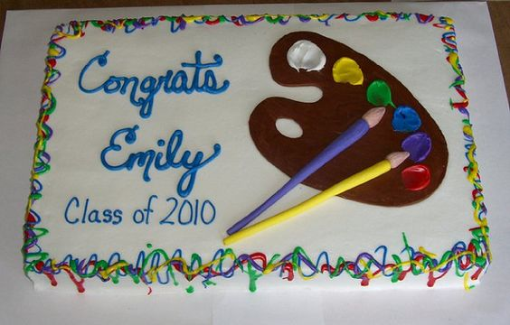 Artist's Cake by TheCraftyBlackbird, via Flickr
