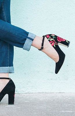 LOVE block heels. See my favorite tory burch ones + a style guide, on southern elle style! southernellestyle...