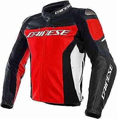 Dainese Racing 3 Leather Jacket Motoin De In 2020 Leather Jacket Black Leather Motorcycle Jacket Leather Jacket Men