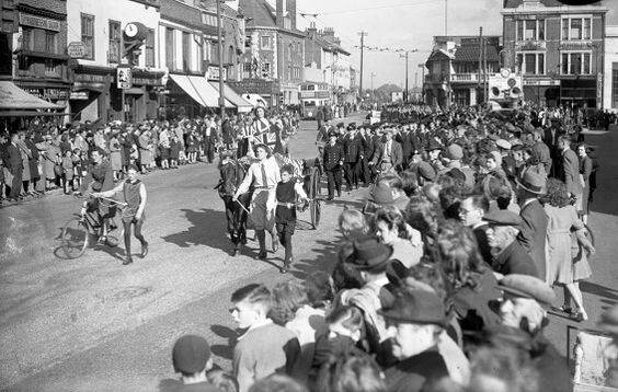 Thanksgiving Parade Enfield Town 15 Sept 1945
