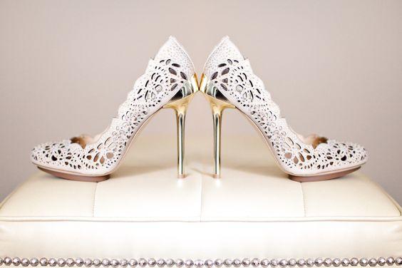 Amazing Heels for your Wedding Day. Wedding shoe ideas.  www.robertmaxphotography.com