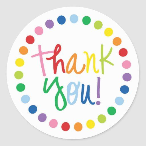 Birthday Party Stickers Thank You Stickers Product Stickers Party Stickers Business Branding Printout Stickers Thank You Favors