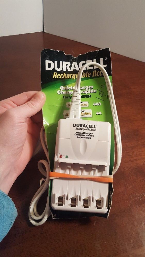 Duracell Rechargeable Accu Aa Aaa Batteries Charger Quickcharger Travel Handheld Duracell Aaa Battery Charger Duracell Aaa Batteries