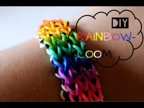 DIY Rainbow Loom Bands Dreifach-Armband (German) | PLUSSIZEBEAUTY ♥