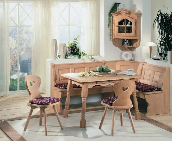 Corner Wall Storage Idea Feat Awesome Breakfast Nook With L Shaped Bench Design Plus Unique Small Table