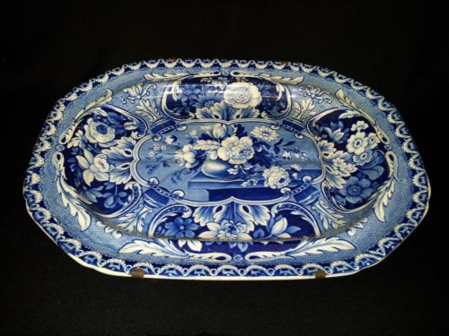 A Very Rare English John Davenport 1793 1822 Staffordshire Platter | eBay