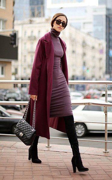 Как носить марсала-один из главных цветов этой осени | модница | Яндекс Дзен