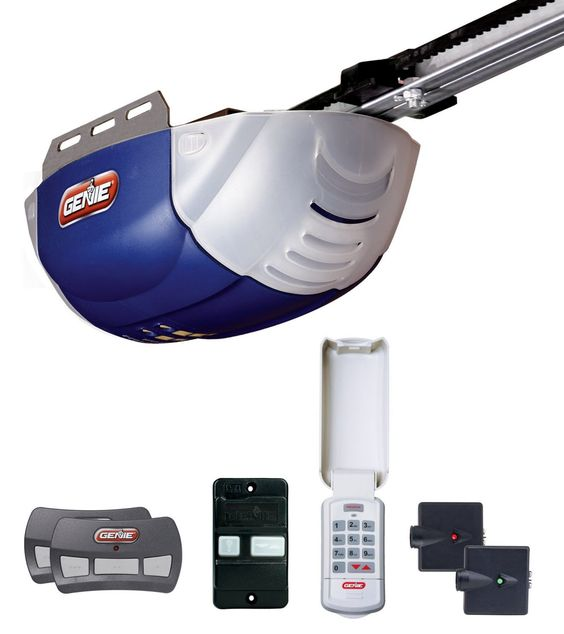 Genie 37000r 38957s Chain Drive Garage Door Opener 12 Horsepower Garage Doors Best Garage Doors Garage Door Opener