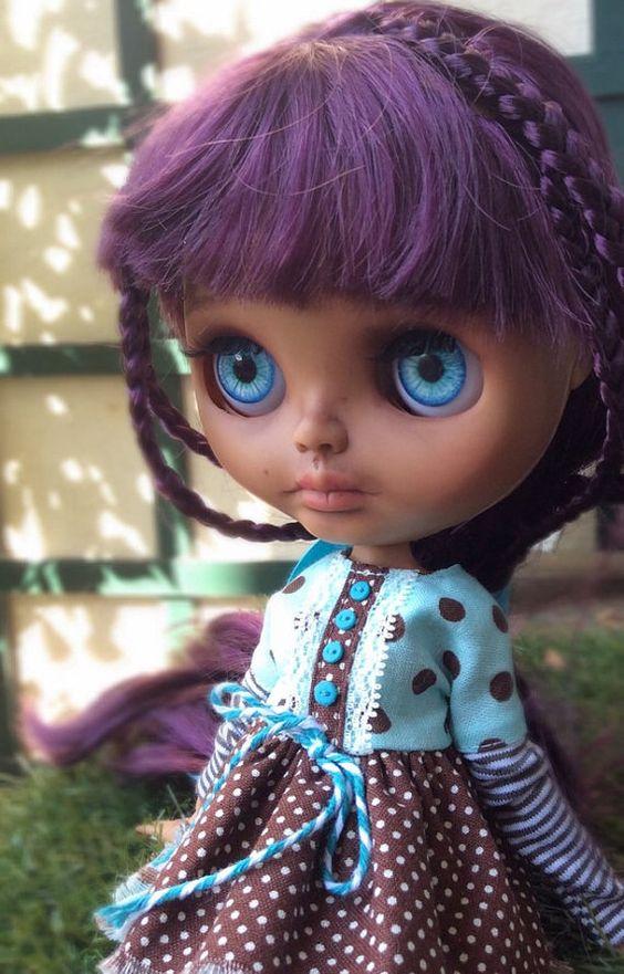 Muñeca personalizada de Blythe muñeca OOAK por BlythedeFrance
