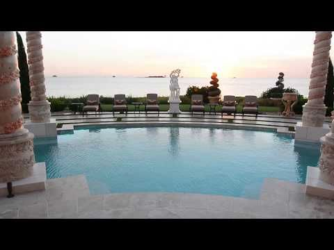 On Episode 10 Of Insane Pools Lucas Faces An Epic Challenge Building A Roman Pool Fit For A Palace On The Gulf Of Mexico In 2021 Roman Pool Insane Pools Pool