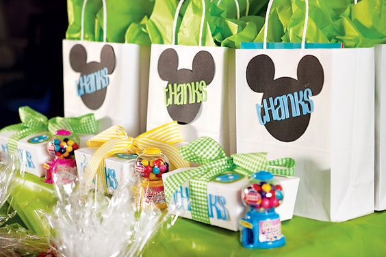 mickey mouse  birthday: Favor Bags, Gift Bags, Mickey Mouse Parties, Mickey Mouse Favors, Mickey Mouse Party Favors, Party Ideas, Mouse Bags, Birthday Ideas