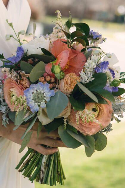 Emerson Events did a beautiful job creating this bouquet. | Photography: Leia Smethurst Photography | Wedding Inspiration | Brides of Oklahoma #bridesofok #oklahomawedding #bouquet