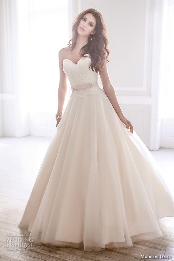 Madison James Bridal Fall 2015 Wedding Dresses | Wedding, A line ...