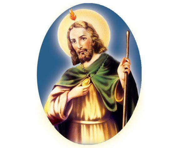 Judas Tadeo Patrono De Las Causas Difíciles Y Desesperadas Sagrado Coração De Jesus Patrono Santos
