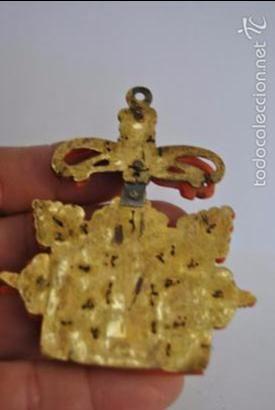 Antigüedades: ESPECTACULAR RELICARIO TALLADO EN CORAL ROJO DE TRAPANI SICILIA SIGLO XVII - Foto 14 - 56156637
