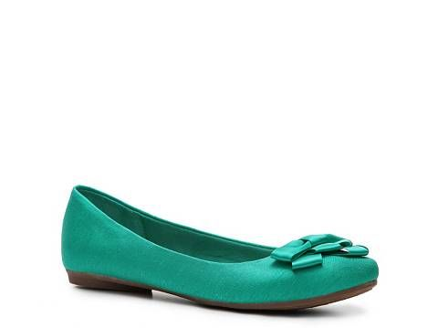 Fergalicious Adele Fabric Ballet Flat | DSW I WANT THIS COLOR! I have it in Navy blue and Coral from last year