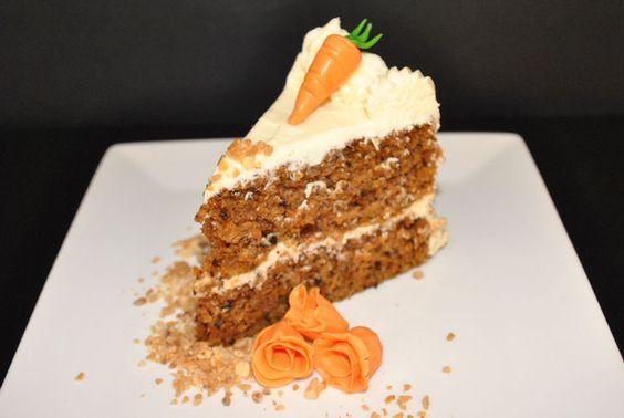 Receta de pastel de zanahoria   Como Hacer Pasteles