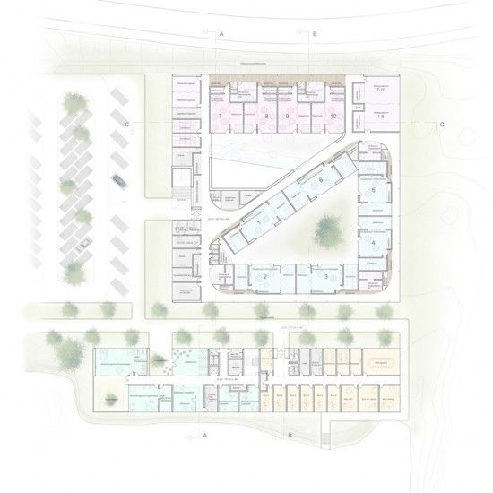 UKA Kindergarten Competition Proposal by Studio DMTW I Like Architecture
