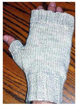 Mens Fingerless Gloves Knit Pattern : MENS FINGERLESS MITTS pattern Eric needs this Knitting Pinterest W...