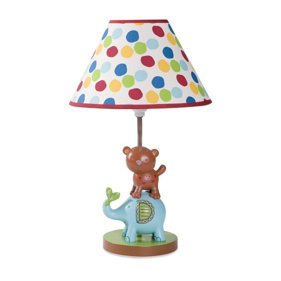 Kids Line Animal Parade Lamp Base & Shade