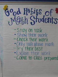 starting math workshop