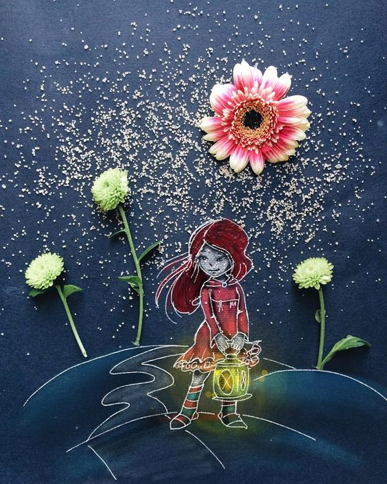 Arte con flores 7a78cd8b368abf4ad9147391948edd68
