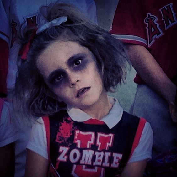 Zombie Cheerleader And Zombies On Pinterest