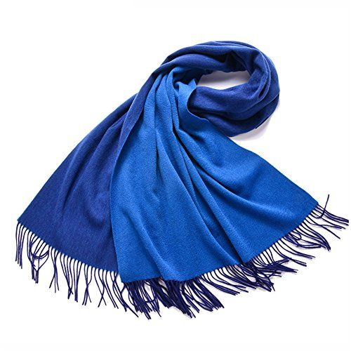 Sherry007 Two Sides Reversible Cashmere Feel Large Wool Shawl Wrap Scarf(17 Colors) ** You can get more details by clicking on the image.