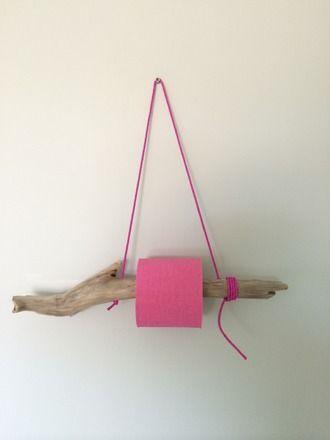 d rouleur papier toilette en bois flott plage sauvage nartelle rose rose roses pink et corse. Black Bedroom Furniture Sets. Home Design Ideas