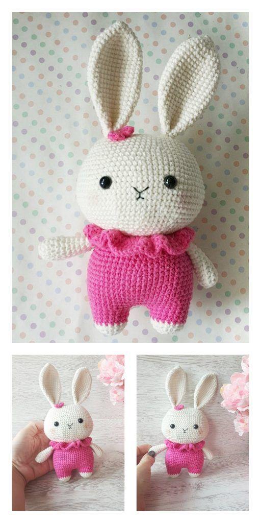 Little crochet bunny pattern   Amiguroom Toys   1024x512