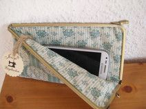 Joisys® Bügeltasche Smartphone Soft Case *Aqua