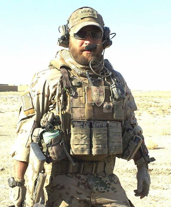 Delta Force Beard Freedom fighter in Afg...