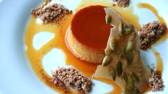 Maple Pumpkin Creme Caramel