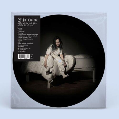 Billie Eilish When We All Fall Asleep Where Do We Go Spotify Picture Vinyl How To Fall Asleep Billie Eilish Vinyl